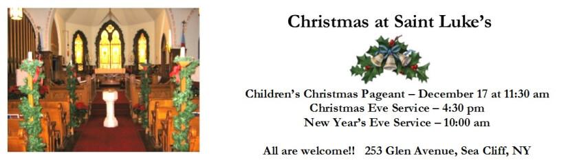 christmas banner for website