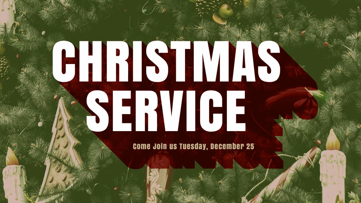Christmas Day Service with Holy Communion